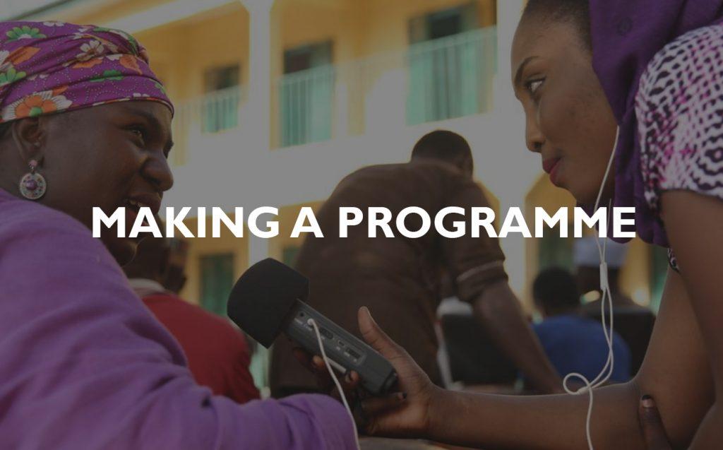 Making a program